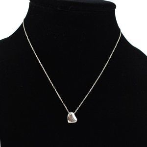 TIFFANY & CO Sterling Silver Heart Necklace (bx)
